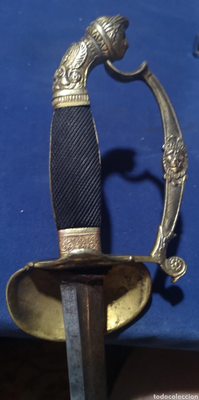 Militaria: Espada de ceñir de gran gala española primer imperio napoleónico - Foto 6 - 212207231