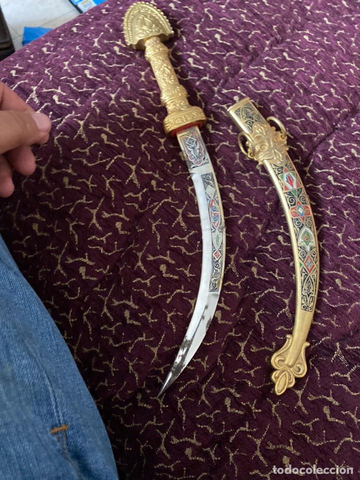 Militaria: Antigua Daga arabe decorativa. Ver fotos - Foto 2 - 215179381