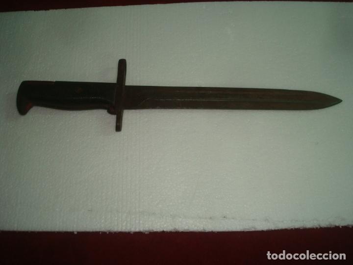 BAYONETA INSCRITO U F H 1942 U S 36 CM (Militar - Armas Blancas Originales Fabricadas entre 1851 y 1945)