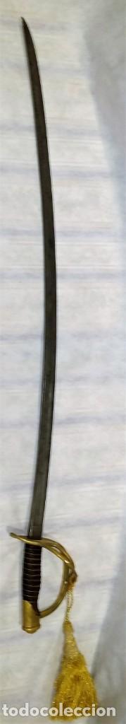 SABLE DE CABALLERÍA 1863 GUERRA DE SECESIÓN AMERICANA (SELLADO Y NUMERADO) - ENVÍO GRATIS PENÍNSULA (Militar - Armas Blancas Originales Fabricadas entre 1851 y 1945)