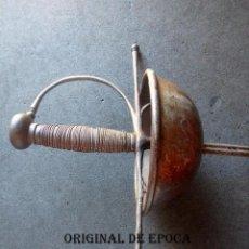Militaria: (JX-20951)ESPADA ESPAÑOLA DE TAZA,SIGLO XVIII,MARCADA ANTONIO ¿SECHIM ? EN TOLEDO .. Lote 218404917
