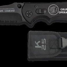 Militaria: NAVAJA K25 - GEO - GRUPO ESPECIAL DE OPERACIONES. Lote 218501095