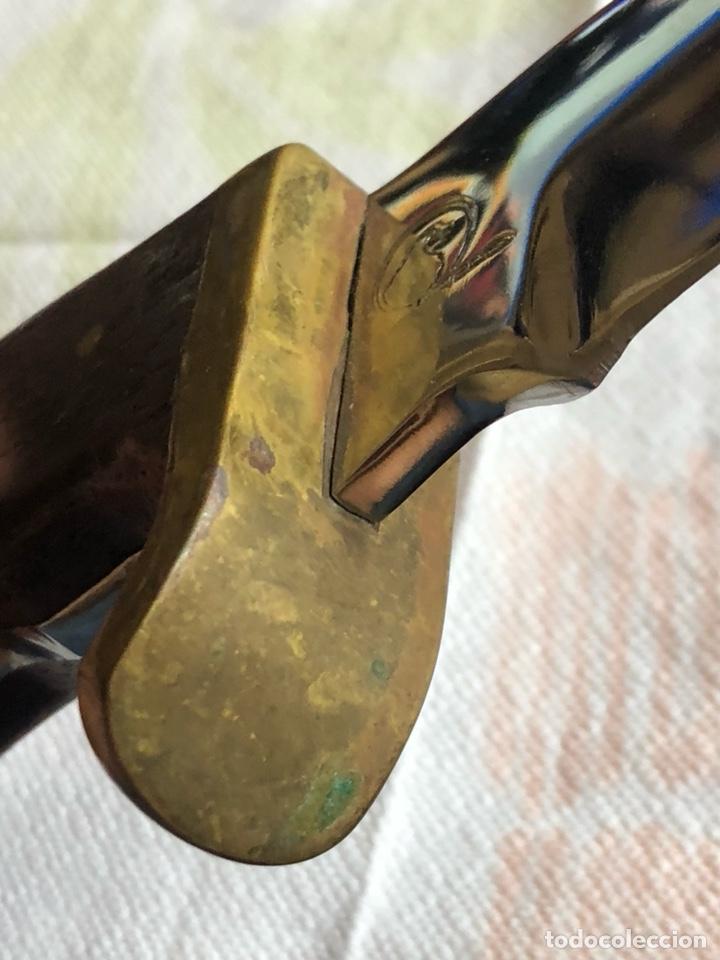 Militaria: Antiguo cuchillo de caza echo a mano, México - Foto 7 - 219284111