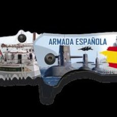 Militaria: NAVAJA ARMADA ESPAÑOLA FOS IMPRESA 3D - H - 8.2 CM. Lote 219365775