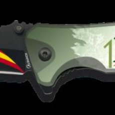 Militaria: NAVAJA CENTENARIO DE LA LEGIÓN ESPAÑOLA FOS IMPRESA 3D - H - 8.2 CM. Lote 219366826