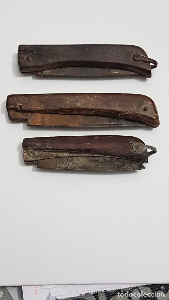 LOTE ANTIGUAS NAVAJAS GUERRA CIVIL (Militar - Armas Blancas Originales Fabricadas entre 1851 y 1945)