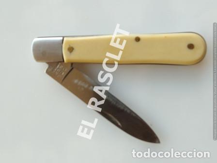 ANTIGÜA NAVAJA ICEL INOX PORTUGAL (Militar - Armas Blancas Originales de Fabricación Posterior a 1945)