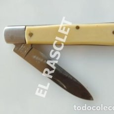 Militaria: ANTIGÜA NAVAJA ICEL INOX PORTUGAL. Lote 219646502