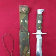 Militaria: CUCHILLO MACHETE DE CAZA Y MONTE.. Lote 219753828
