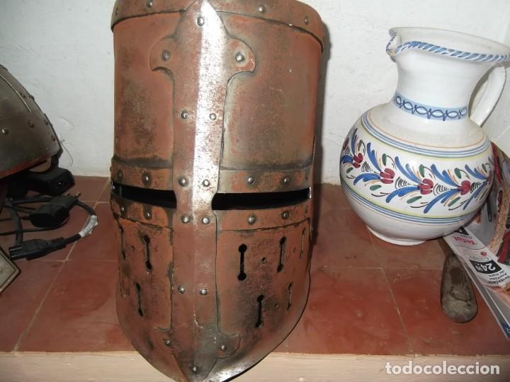 YELMO CERRADO GRAN YELMO (Militar - Armas Blancas, Reproducciones y Piezas Decorativas)