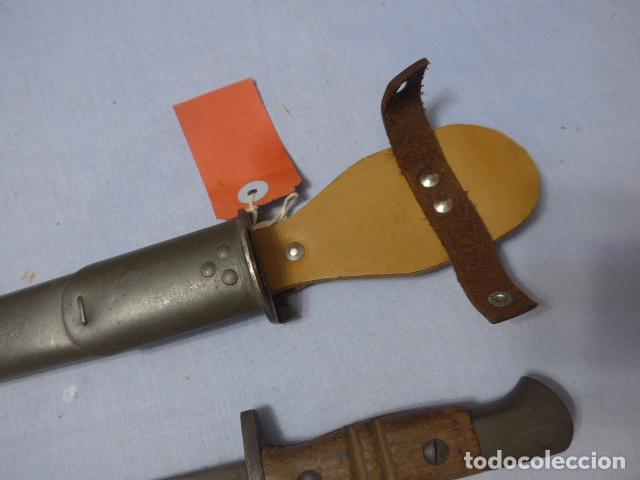 Militaria: * Antigua bayoneta remington 1913 para Francia, original. ZX - Foto 5 - 220107246
