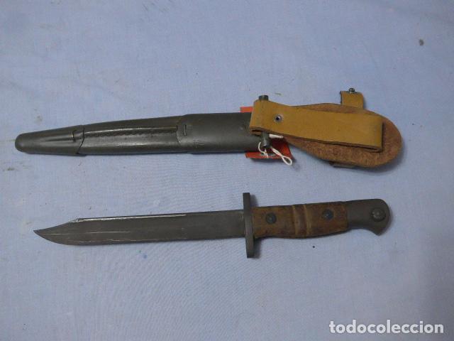 Militaria: * Antigua bayoneta remington 1913 para Francia, original. ZX - Foto 6 - 220107246