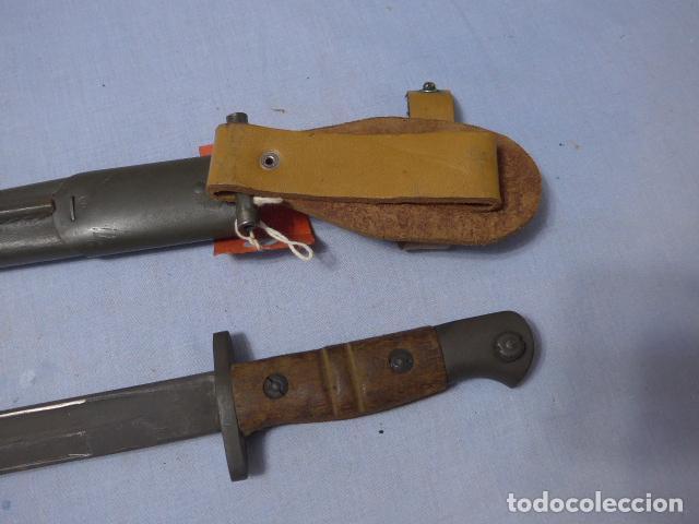 Militaria: * Antigua bayoneta remington 1913 para Francia, original. ZX - Foto 7 - 220107246