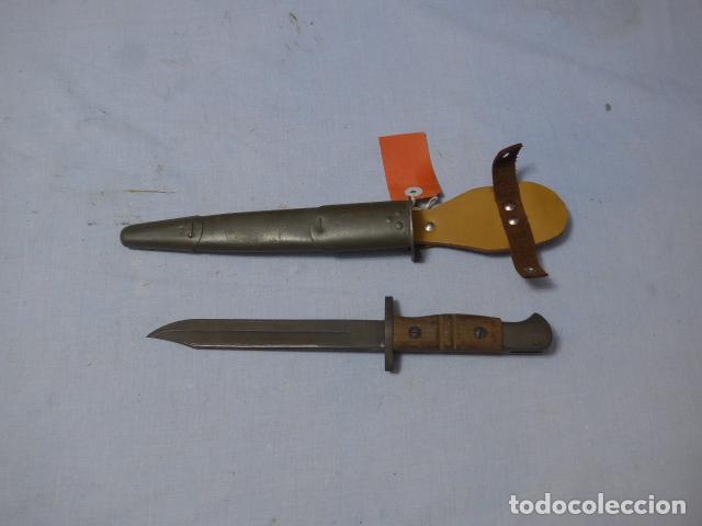 * ANTIGUA BAYONETA REMINGTON 1913 PARA FRANCIA, ORIGINAL. ZX (Militar - Armas Blancas Originales Fabricadas entre 1851 y 1945)