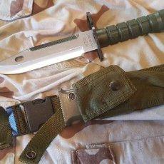 Militaria: BAYONETA CUCHILLO USA M9 A1 M-9 PHROBIS ORIGINAL. Lote 220276378
