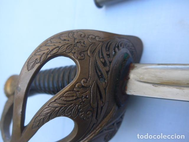 Militaria: * Antigua espada de oficial de caballeria francesa, mod 1896, marcada 1914, 1a guerra. Francia. ZX - Foto 2 - 221416148