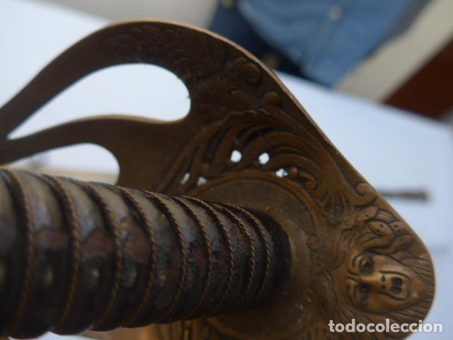 Militaria: * Antigua espada de oficial de caballeria francesa, mod 1896, marcada 1914, 1a guerra. Francia. ZX - Foto 10 - 221416148