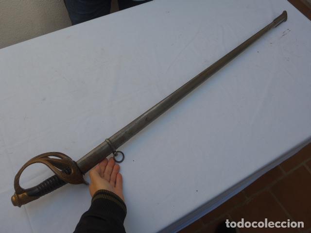 Militaria: * Antigua espada de oficial de caballeria francesa, mod 1896, marcada 1914, 1a guerra. Francia. ZX - Foto 26 - 221416148