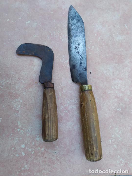 ANTIGUOS CUCHILLOS CAMPEROS (Militar - Armas Blancas Originales Fabricadas entre 1851 y 1945)