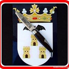 Militaria: ANTIGUA NAVAJA ALBACETEÑA DE ALVARO GARCIA - DE COLECCION. Lote 222892465