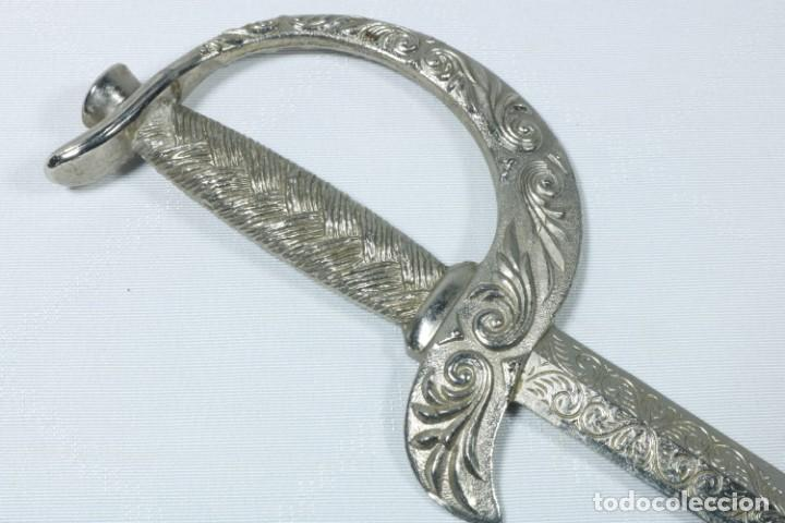 Militaria: Antiguos cuchillos franceses decorados con el escudo de ciudades francesas - Dijon, Calvi... - Foto 4 - 225311700