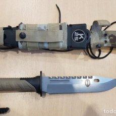 Militaria: CUCHILLO THUNDER I CAMO SAND H9. Lote 230709180