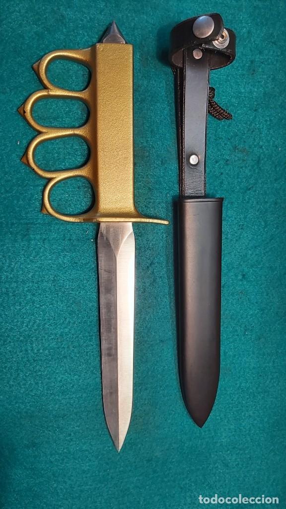 CUCHILLO DE TRINCHERA U.S. MARK I REPLICA (Militar - Armas Blancas, Reproducciones y Piezas Decorativas)