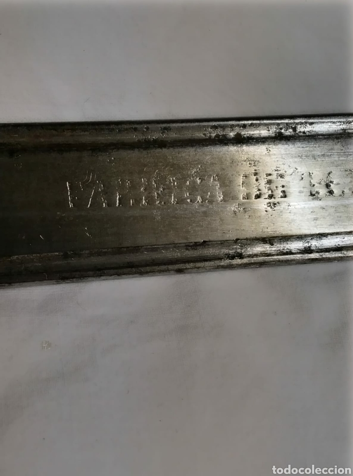 Militaria: Espada sable español fabrica Toledo 1867 - Foto 12 - 236412290