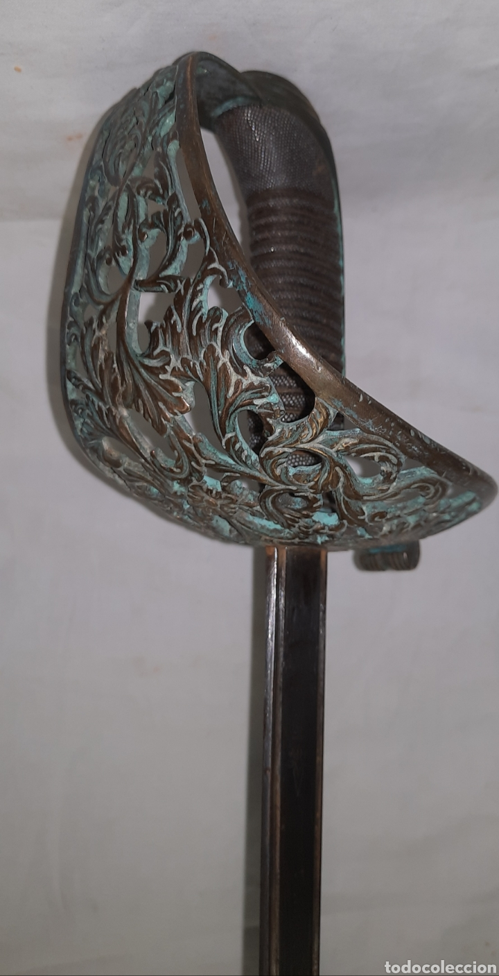 ESPADA SABLE ESPAÑOL FABRICA TOLEDO 1867 (Militar - Armas Blancas Originales de Fabricación Anterior a 1850)