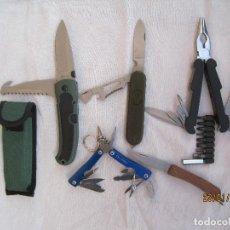 Militaria: LOTE NAVAJAS/MULTIUSOS ... Lote 237059720