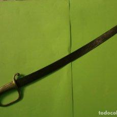 Militaria: SABLE ARTILLERÍA FÁBRICA DE TOLEDO AÑO DE 1841. Lote 238324740