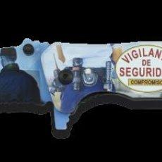 Militaria: NAVAJA TACTICA EN 3D DE VIGILANTE DE SEGURIDAD. Lote 239931490