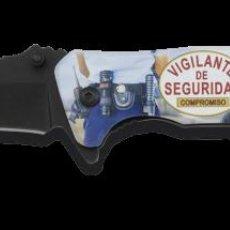 Militaria: NAVAJA TACTICA EN 3D DE VIGILANTE DE SEGURIDAD NUEVO MODELO. Lote 239931500