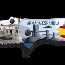 Militaria: NAVAJA TACTICA EN 3D DE LA ARMADA ESPAÑOLA. Lote 239931510