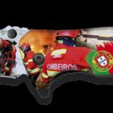 Militaria: NAVAJA TACTICA EN 3D DE BOMBEROS. Lote 239931525