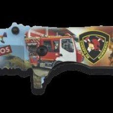 Militaria: NAVAJA TACTICA EN 3D DE BOMBEROS SEGUNDO MODELO NOVEDAD. Lote 239931540