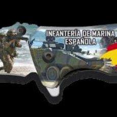 Militaria: NAVAJA TACTICA EN 3D DEINFANTERIA DE MARINA. Lote 239931610