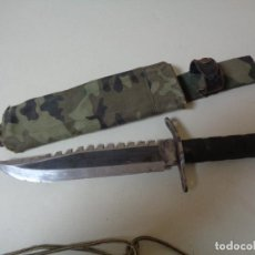 Militaria: GRAN CUCHILLO MILITAR TIPO RAMBO. Lote 241991860