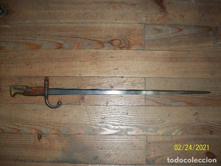BAYONETA GRASS-FRANCESA-AÑO 1874 (Militar - Armas Blancas Originales Fabricadas entre 1851 y 1945)