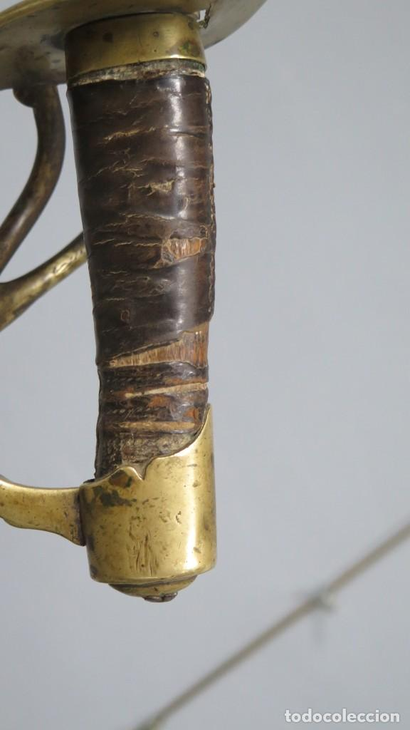 Militaria: SABLE O ESPADA. CARLOS IV. 1796. TOLEDO. POSIBLEMENTE CABALLERIA - Foto 8 - 246341900