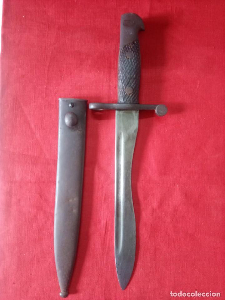 BAYONETA ESPAÑOLA MAUSER (Militar - Armas Blancas Originales Fabricadas entre 1851 y 1945)