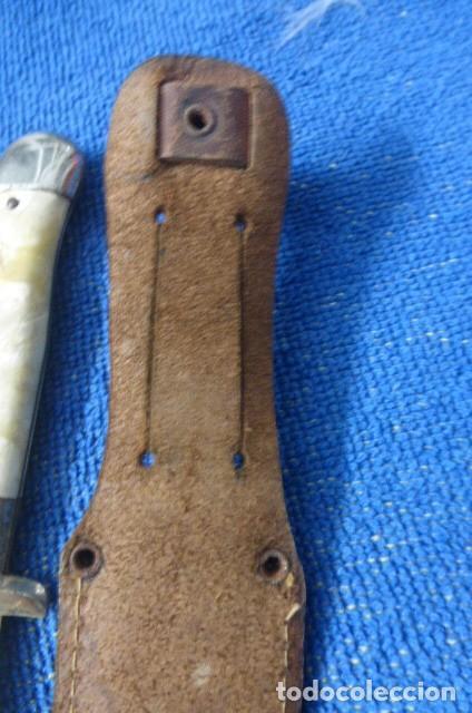 Militaria: Raro cuchillo, tipo Nicker,,,caza, Alemania,,Solingen,,,posible Segunda Guerra Mundial...Curioso.. - Foto 4 - 255015175