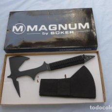 Militaria: * HACHA DE COMBATE O MILITAR, MARCA MAGNUM BOKER, EN SU CAJA ORIGINAL. ZX. Lote 255461495