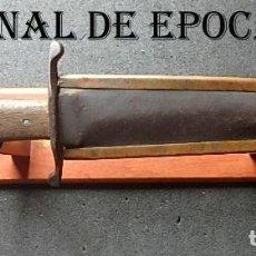 Militaria: (JX-210444)PUÑAL,CUCHILLO DEL BATALLÓN DE LA MUERTE,MALATESTA,BRIGADAS INTERNACIONALES,GUERRA CIVIL. Lote 259878160