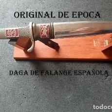 Militaria: (JX-210435)DAGA DE FALANGE ESPAÑOLA,OFICIAL DE INFANTERIA,MODELO MALLORQUIN,GUERRA CIVIL.. Lote 260065925
