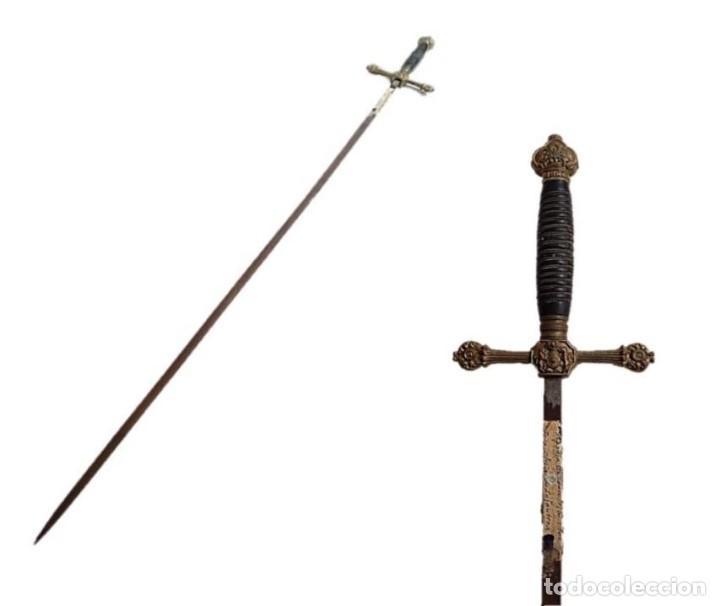 ESPADIN DE CEÑIR PARA OFICIAL DE INFANTERIA MODELO 1901 (PIEZA ORIGINAL) (Militar - Armas Blancas Originales Fabricadas entre 1851 y 1945)