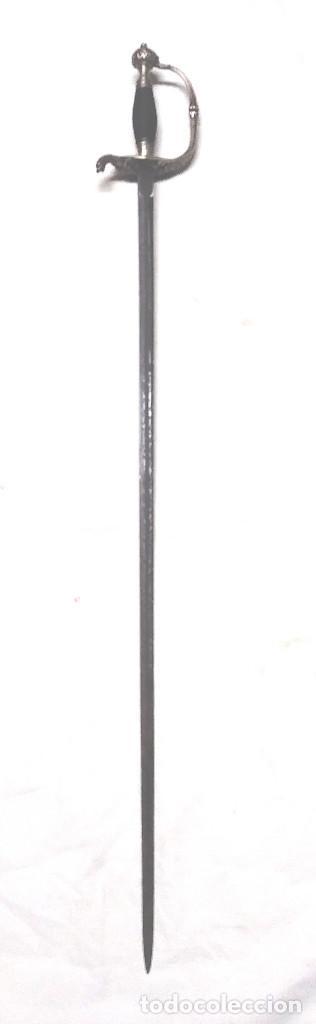 Militaria: Espadin Espada de Ceñir Ingenieros Toledo año 1845, cuño Aznar Selgas. - Foto 3 - 261917640