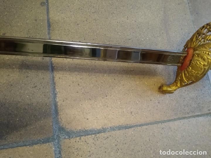Militaria: Espada sable artillería Toledo. - Foto 13 - 197392435