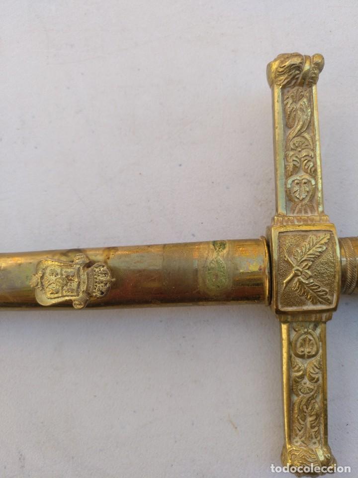 Militaria: Espadín de oficial militar de Isabel II - Foto 5 - 267896094