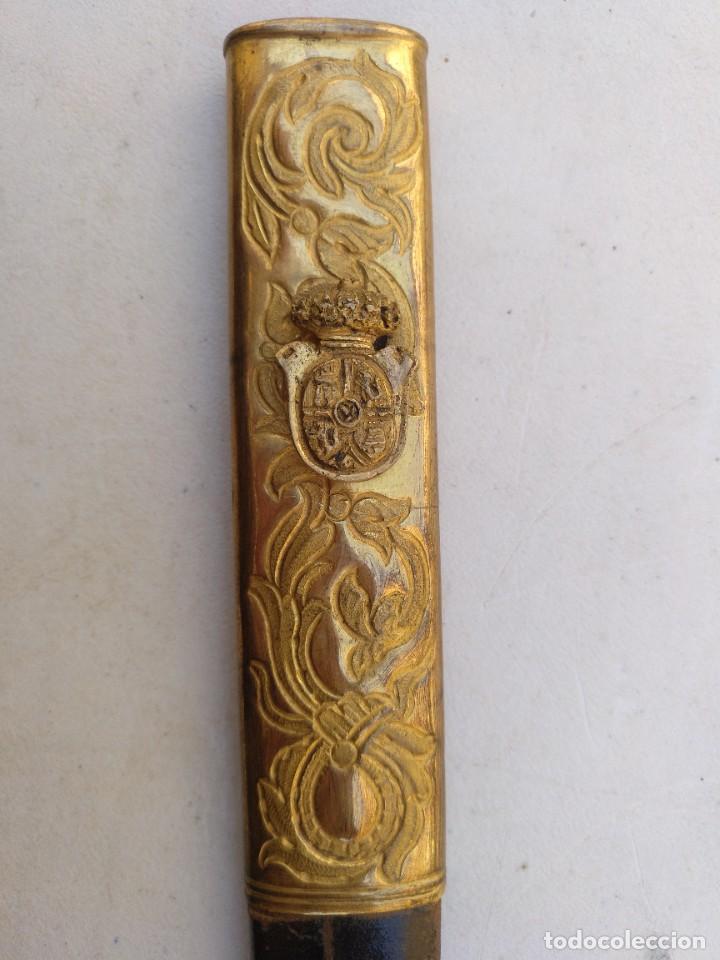 Militaria: Espada de ceñir época Isabel II - Foto 2 - 267906124